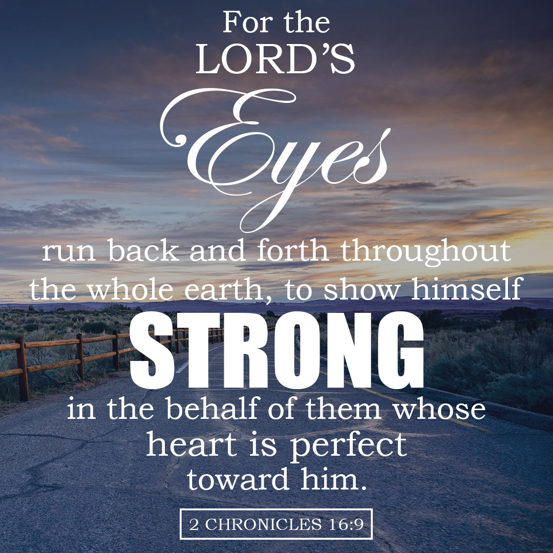 Inspirational Verse of the Day - The Lord's Eyes