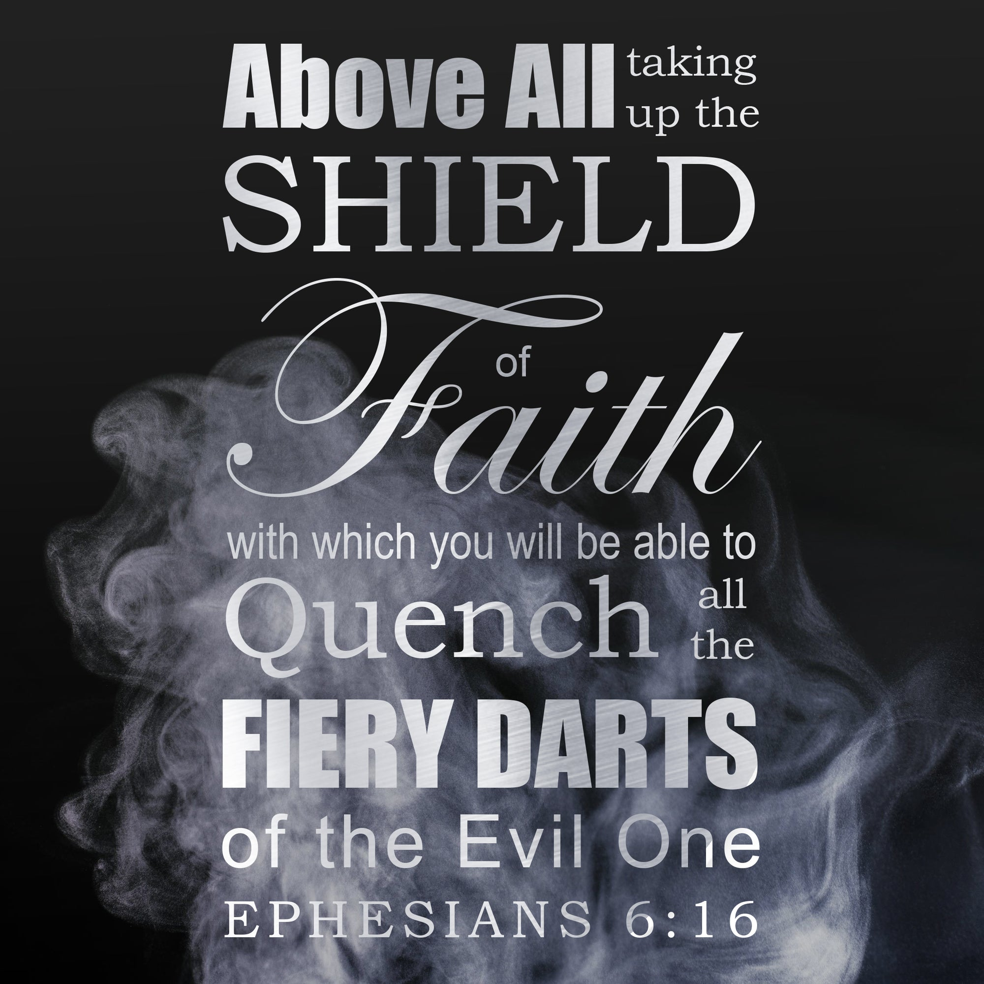 Inspirational Verse of the Day - Shield of Faith