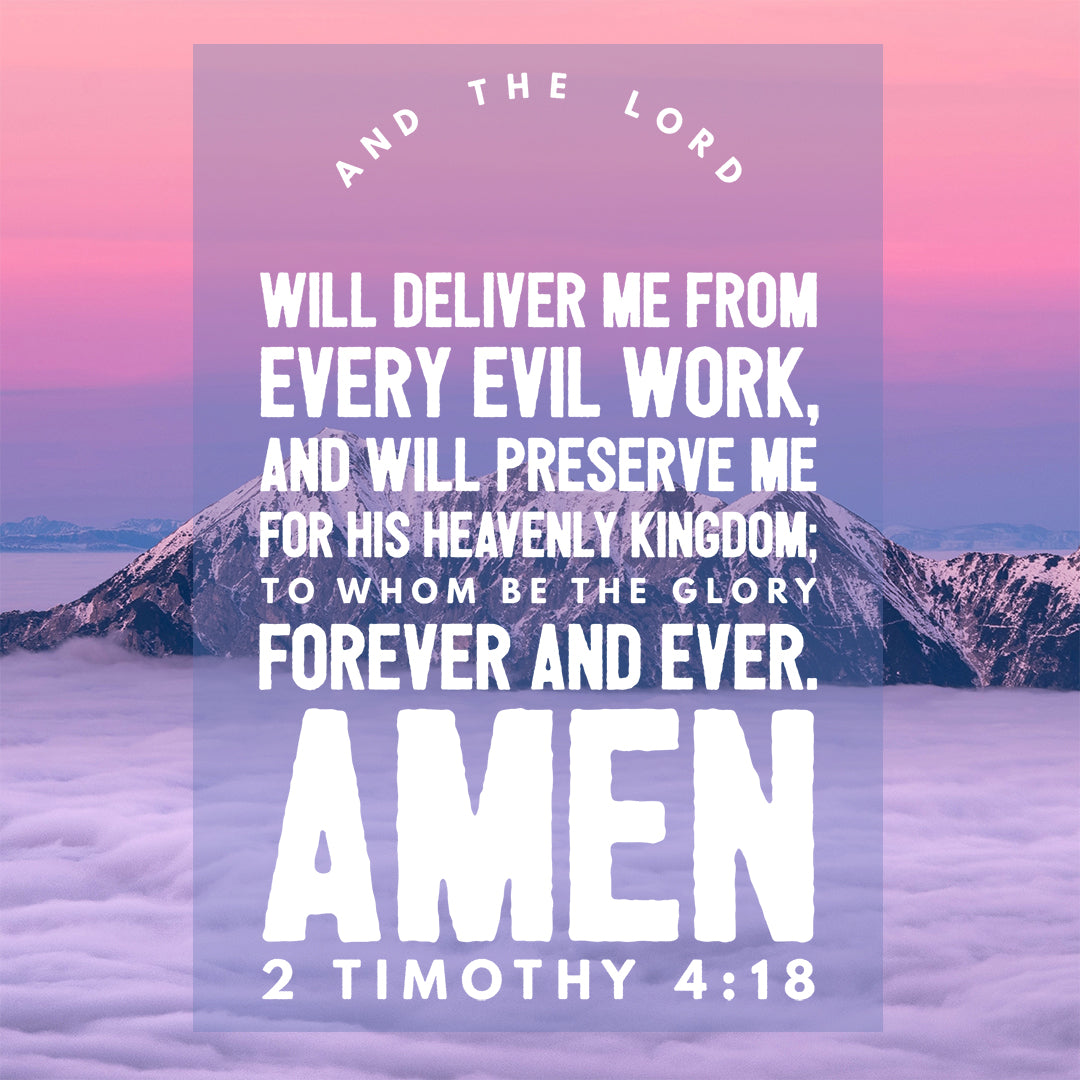 Inspirational Verse of the Day - The Lord Will Deliver Me