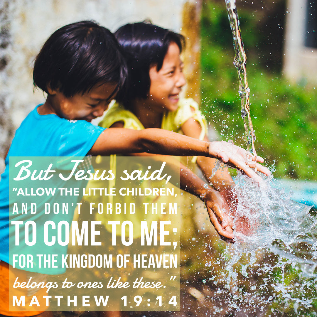 Inspirational Verse of the Day - Allow the Little Children