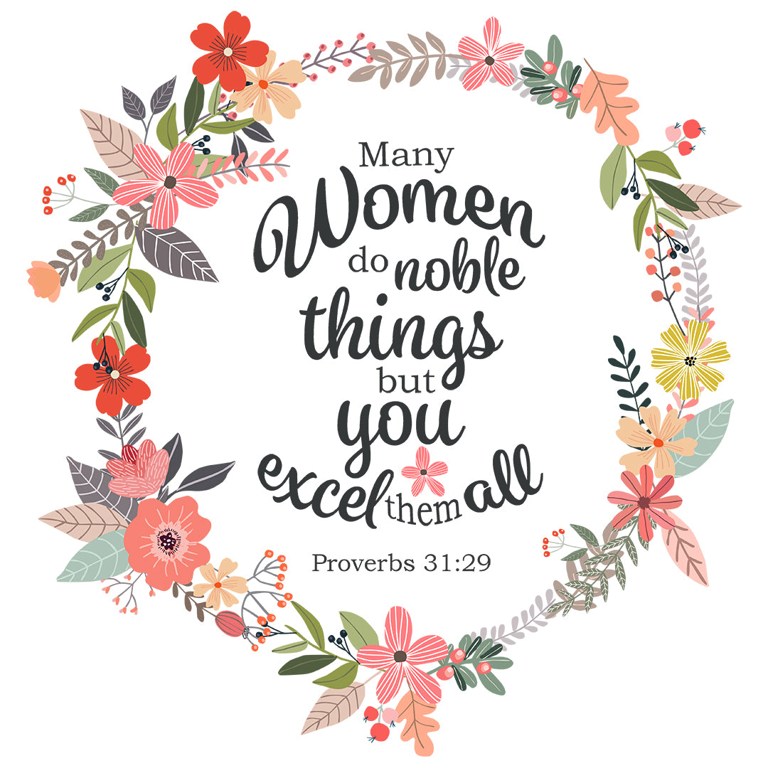 Inspirational Verse of the Day - You Excel Them All
