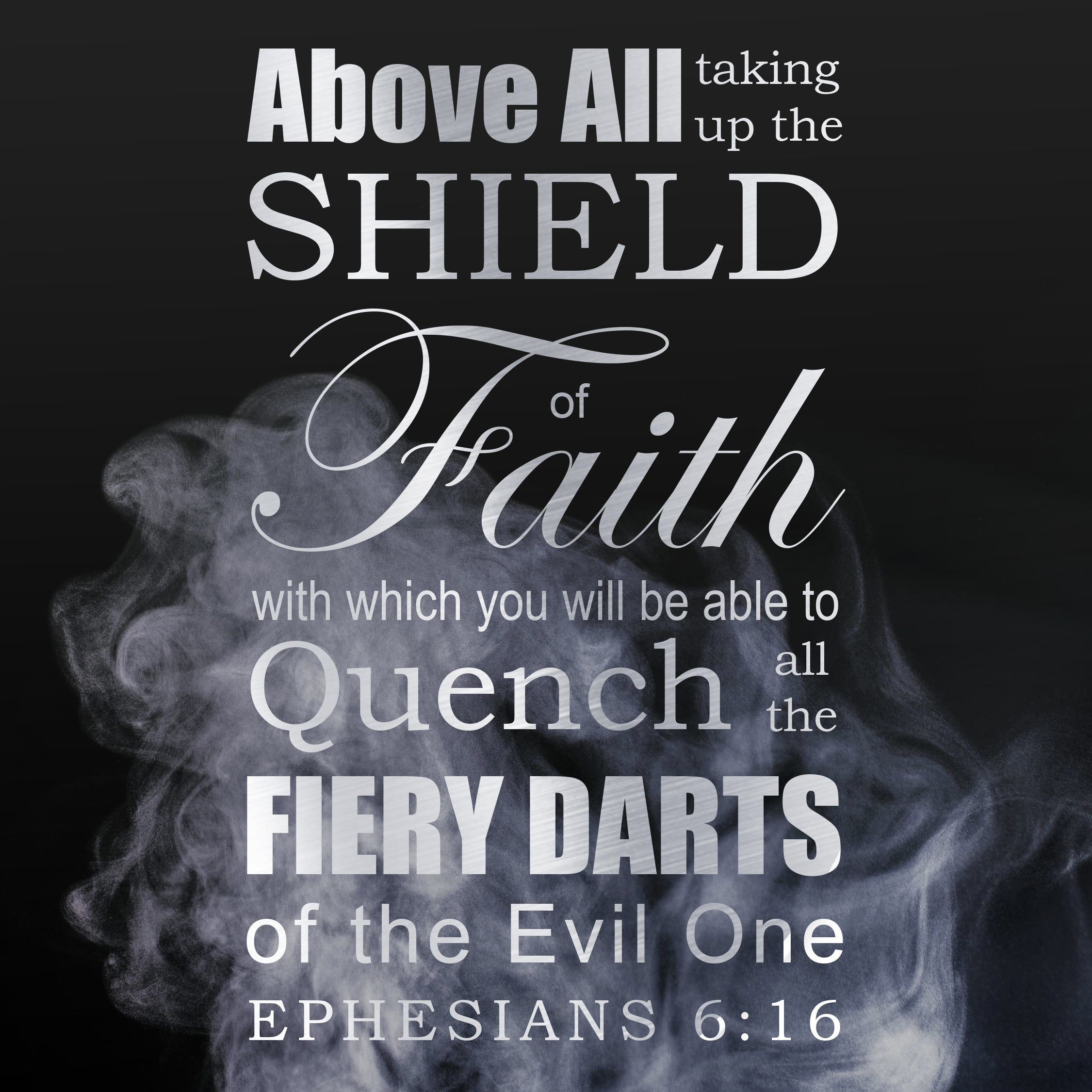 Inspirational Verse of the Day - Shield of Faith – Bible Verses To Go