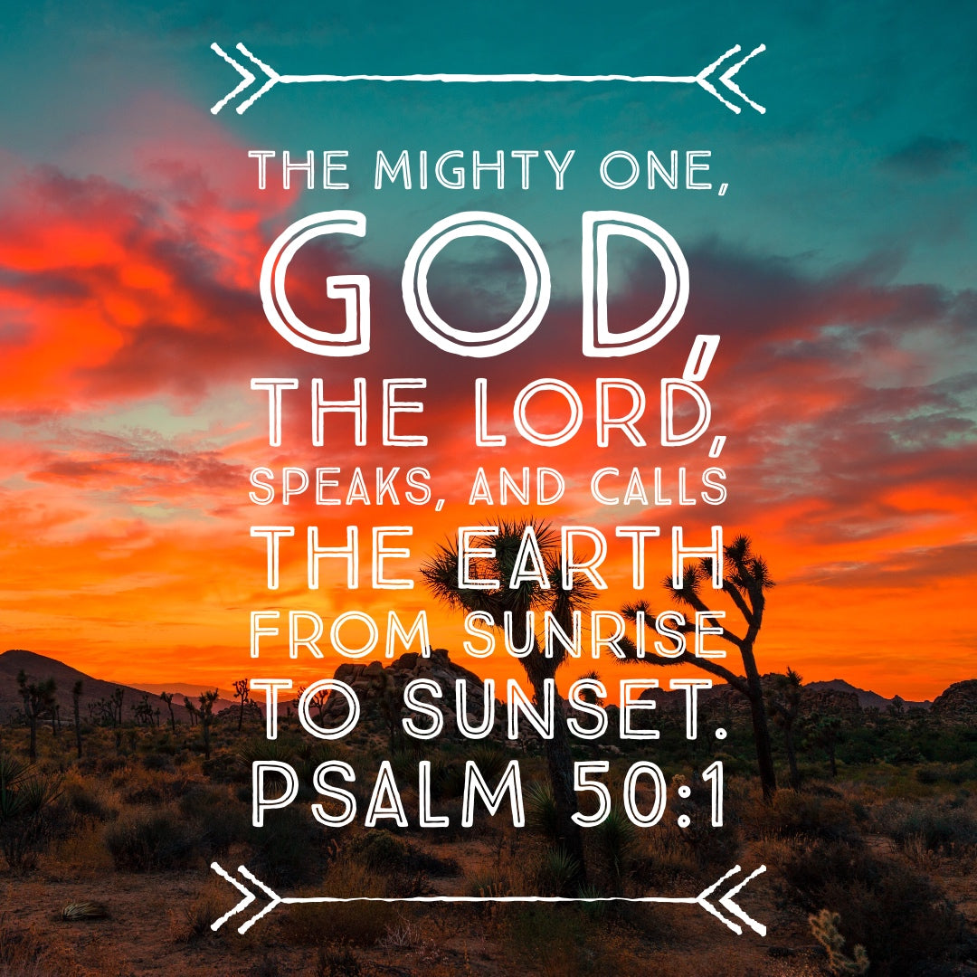 Psalm 50:1 - The Mighty One