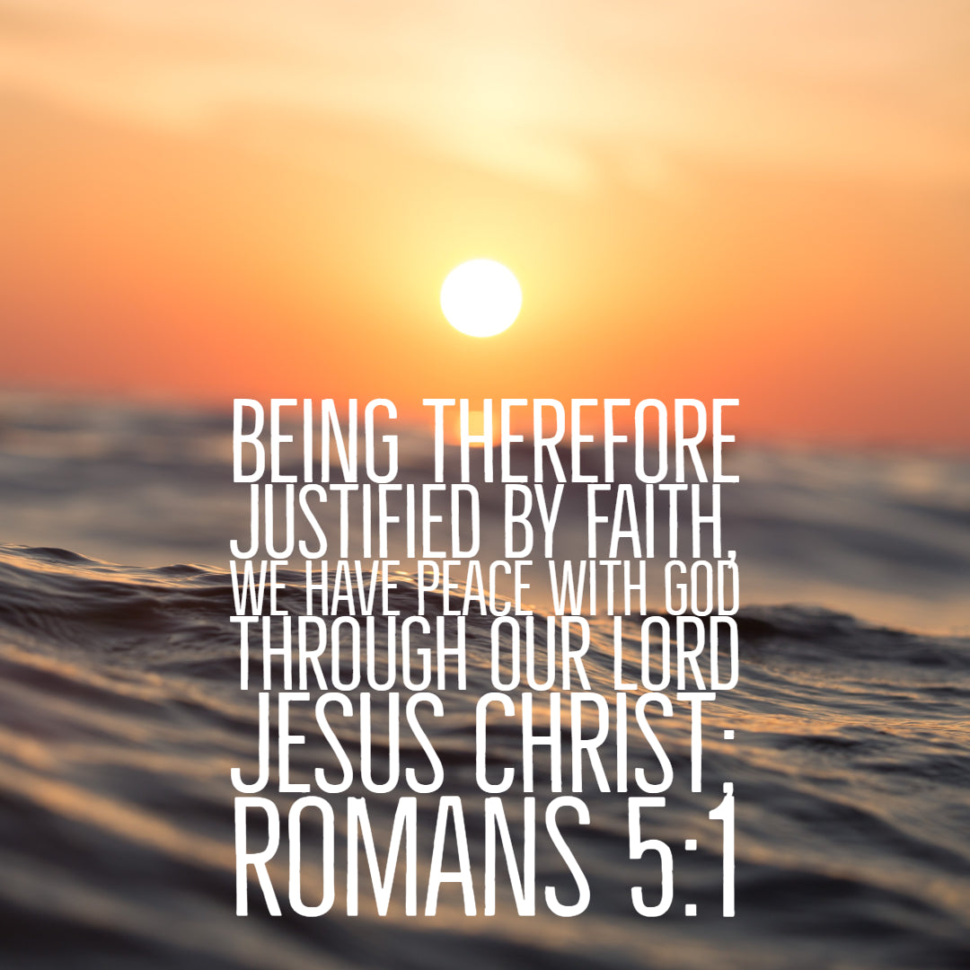 Image result for Romans 5:1""