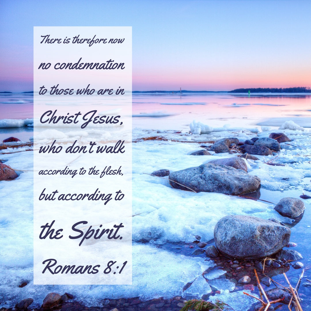 Romans 8:1 - No Condemnation to Those in Christ