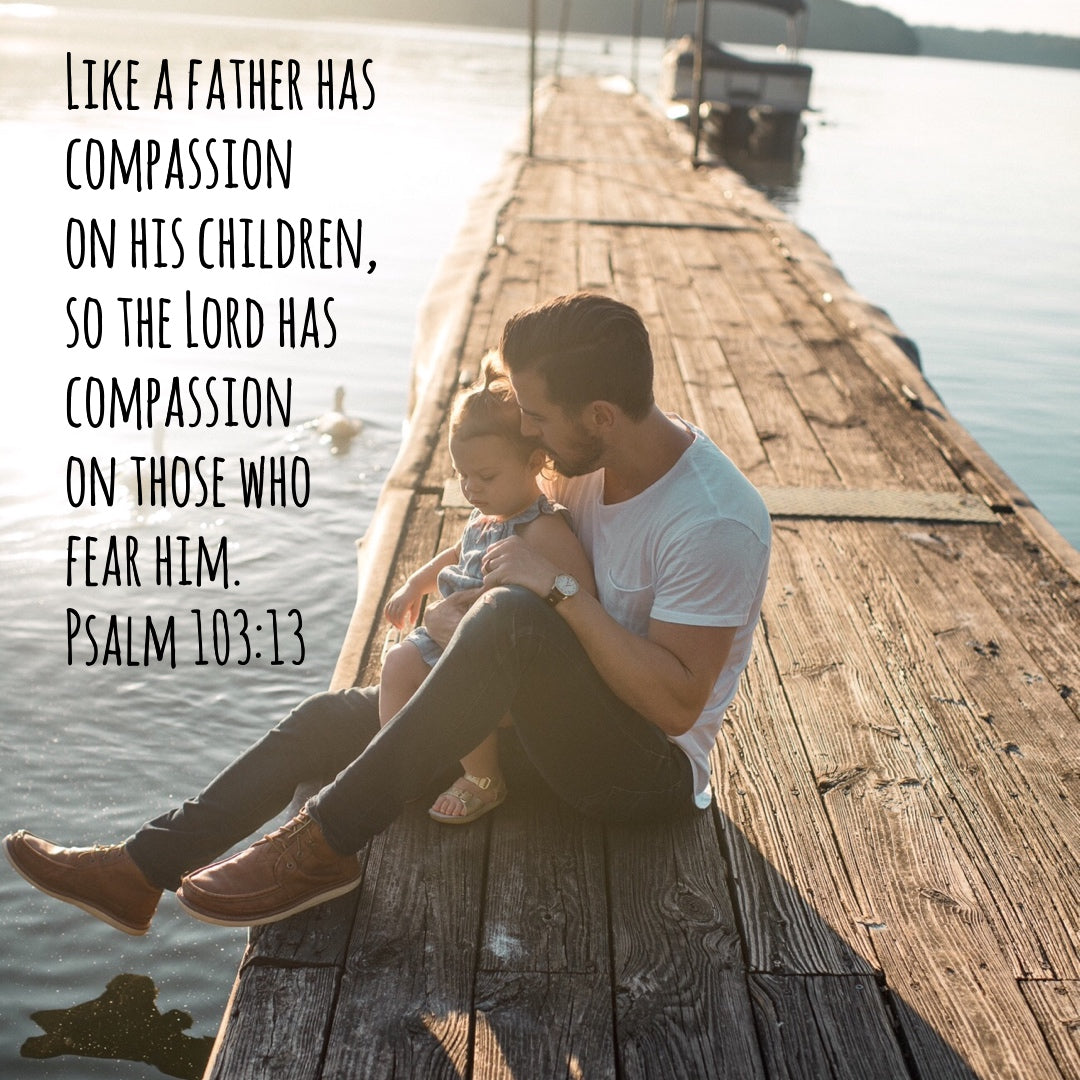 Psalm 103:13 - The Lord's Compassion on Us