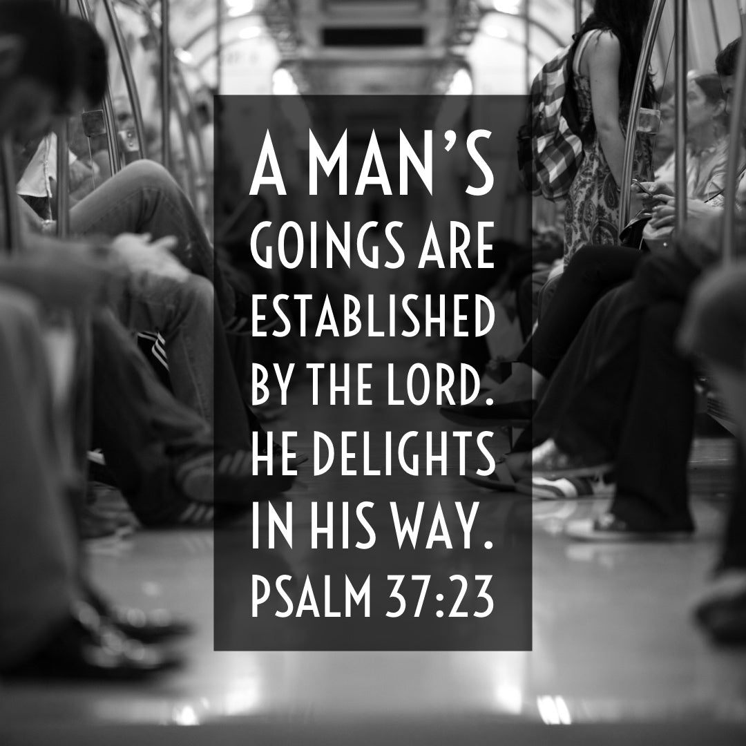 Psalm 37:23 - Man's Goings Established by the Lord