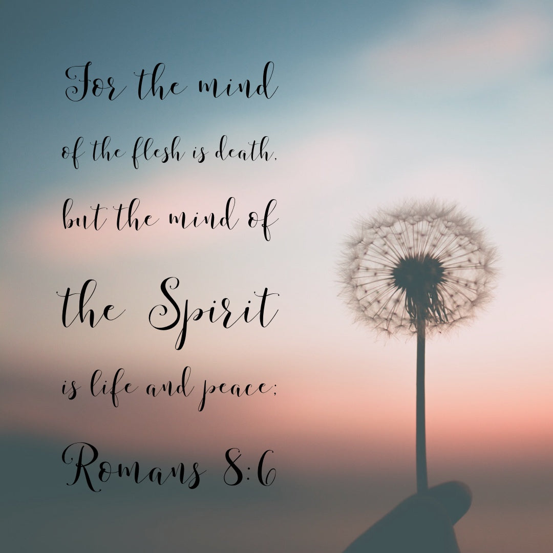 Romans 8:6 - Life and Peace