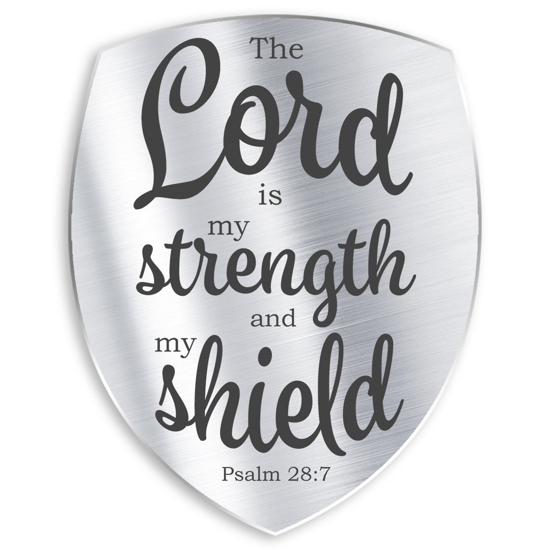 Psalm 28:7 - Strength and Shield - Bible Verses To Go