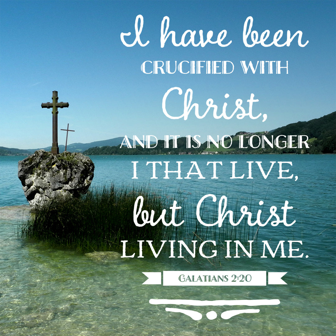 Image result for Galatians 2:20