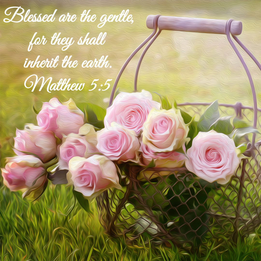 Matthew 5:5 - Blessed Are the Gentle - Bible Verses To Go