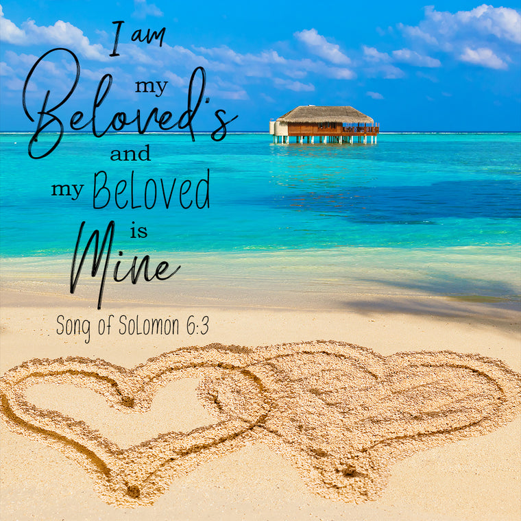 Song of Solomon 6:3 - I am My Beloved's - Bible Verses To Go