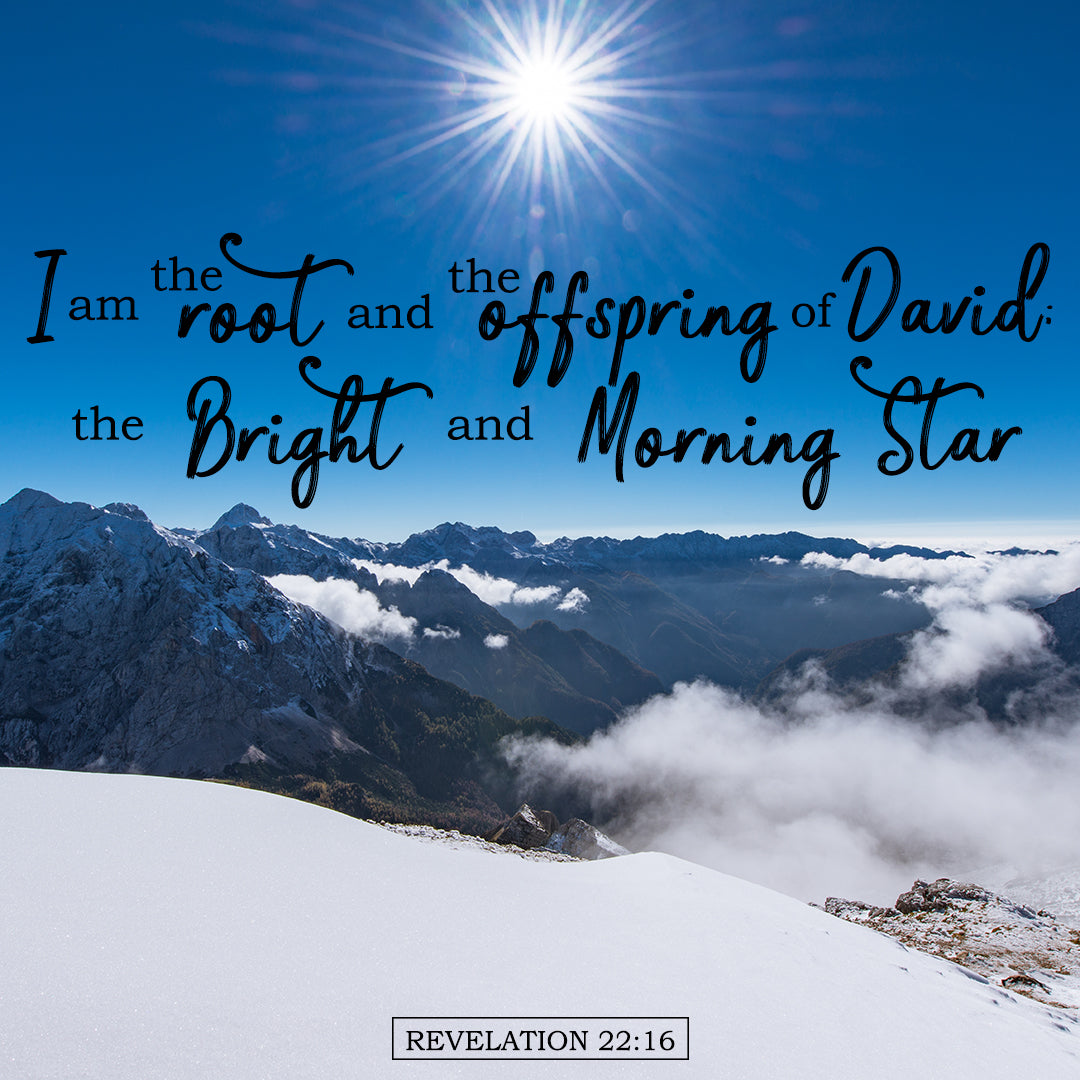 Revelation 22:16 - Bright Morning Star - Bible Verses To Go