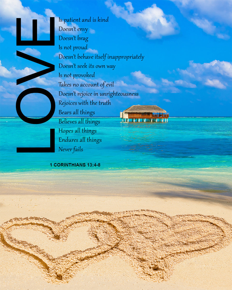 1 Corinthians 13 4 8 Love Is Patient Free Bible Verse