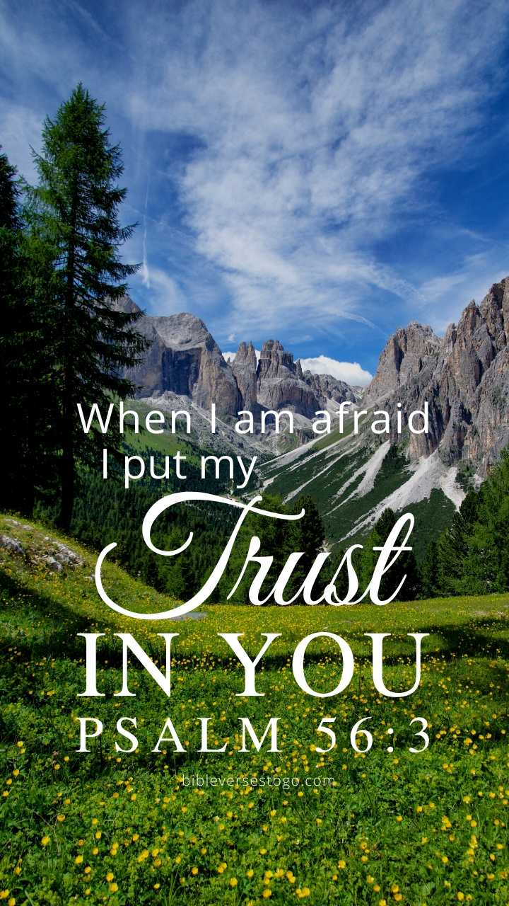 Christian Wallpaper - Alps Psalm 56:3