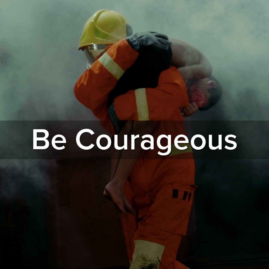 Joshua 1:9 Be Courageous - VIDEO