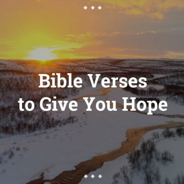 Bible Verses About Hope - VIDEO