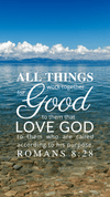 Christian Wallpaper – Calm Lake Romans 8:28