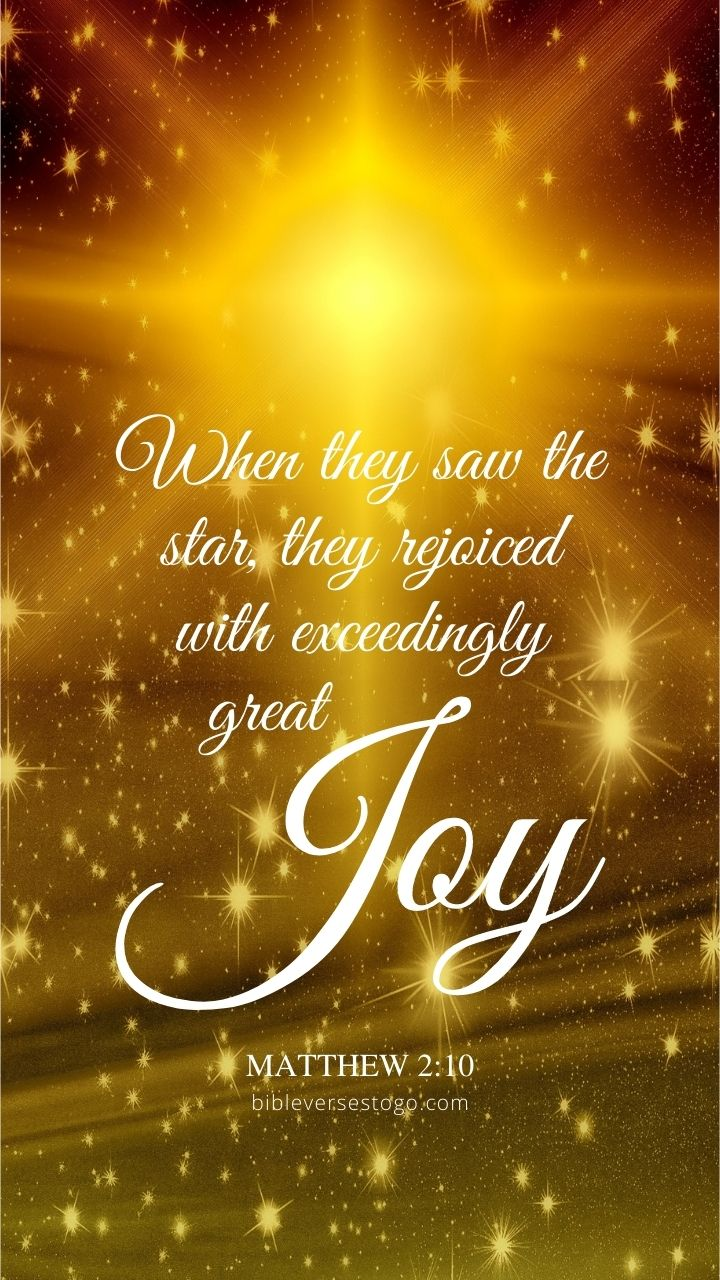 Christian Wallpaper - Christmas Star Matthew 2:10