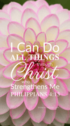 Christian Wallpaper – Dahlia Philippians 4:13