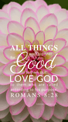 Christian Wallpaper – Dahlia Romans 8:28
