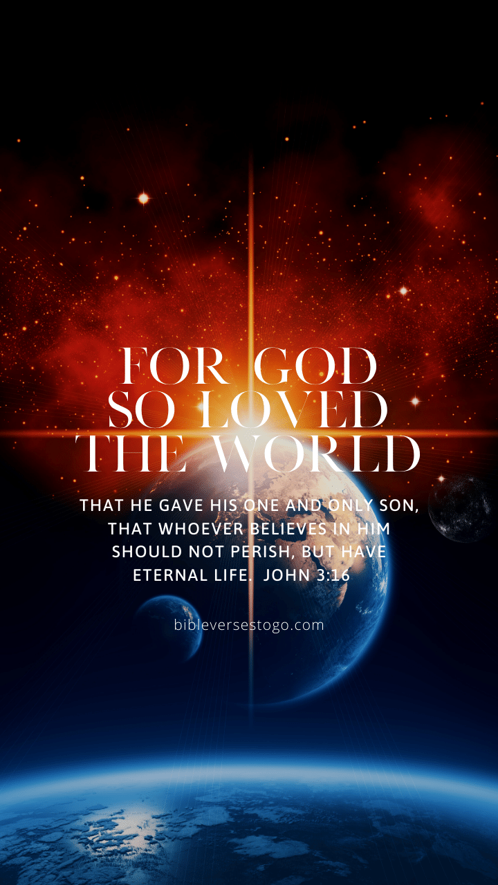 Christian Wallpaper – Earthlight John 3:16