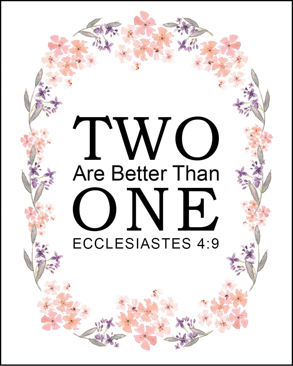 Two is better then one