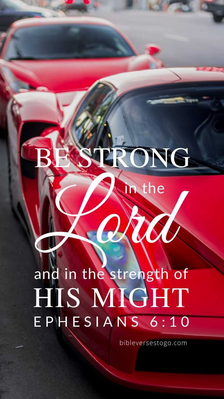 Christian Wallpaper - Ferrari Ephesians 6:10