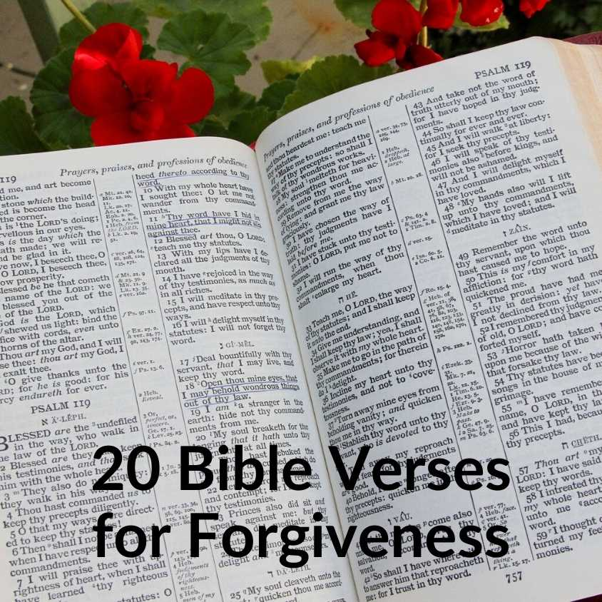 20 Bible Verses for Forgiveness - Download