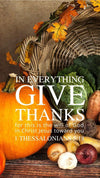 Christian Wallpaper - Give Thanks 1 Thessalonians 5:18
