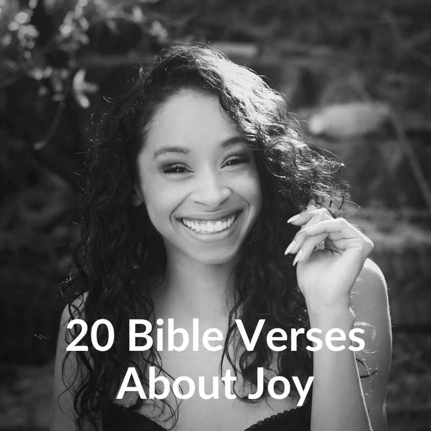 20 Bible Verses About Joy - Download