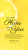 Christian Wallpaper - Lemon Jeremiah 29:11
