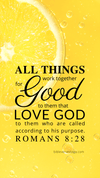 Christian Wallpaper – Lemon Romans 8:28
