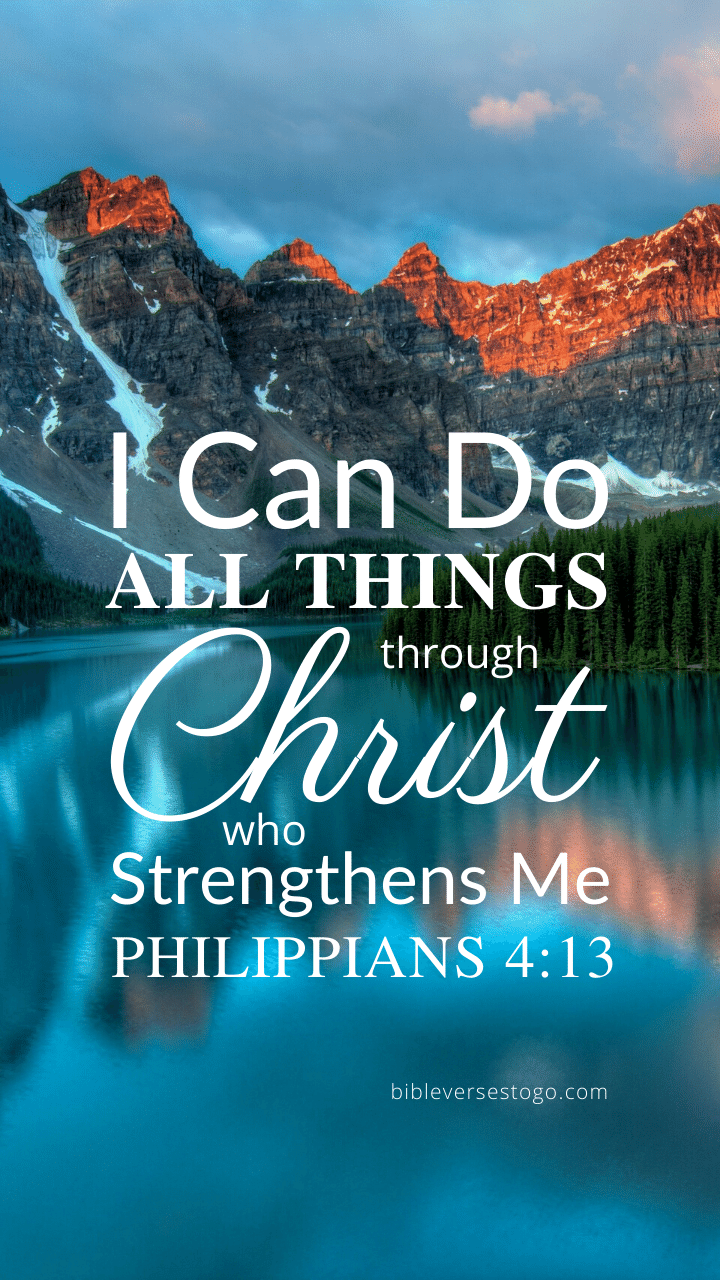 Christian Wallpaper – Louise Philippians 4:13