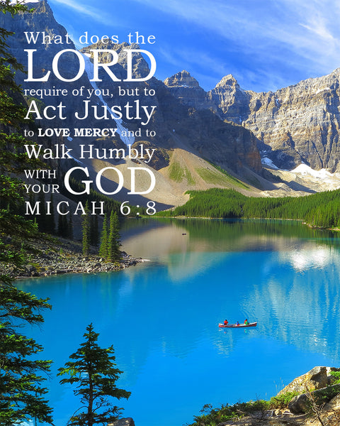 Micah 6 8 Walk Humbly With Your God Free Bible Verse Art
