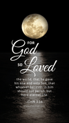 Christian Wallpaper - Moonlight John 3:16
