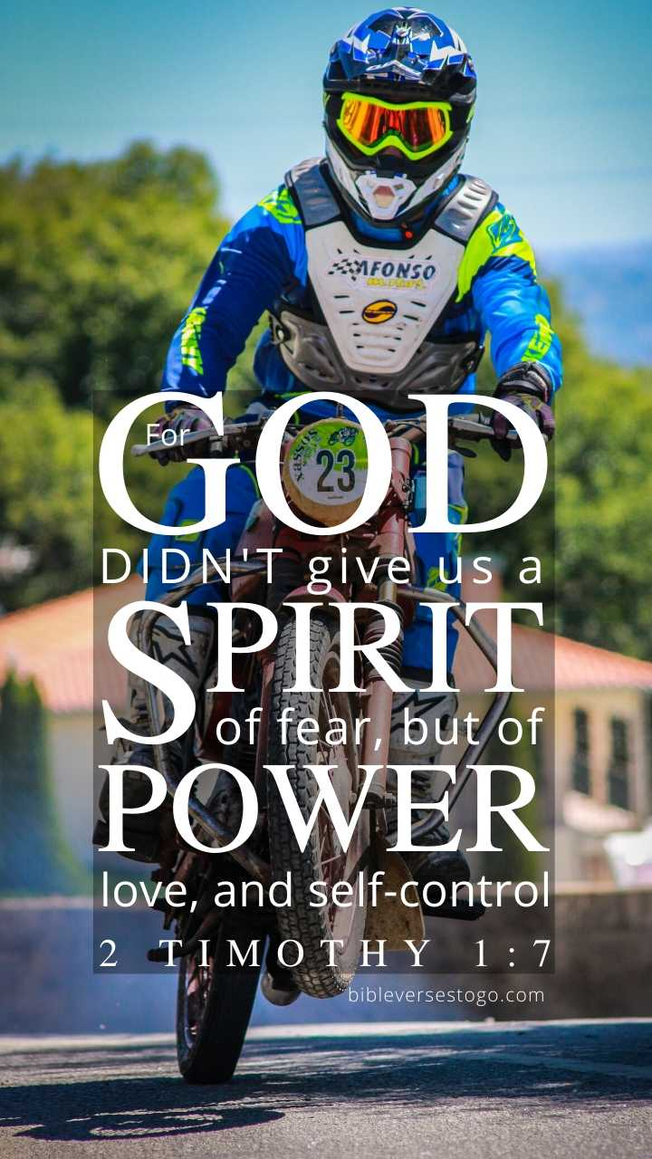Motorcycle 2 Timothy 1:7