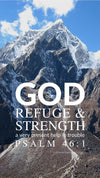 Christian Wallpaper - Nepal Mtns Psalm 46:1