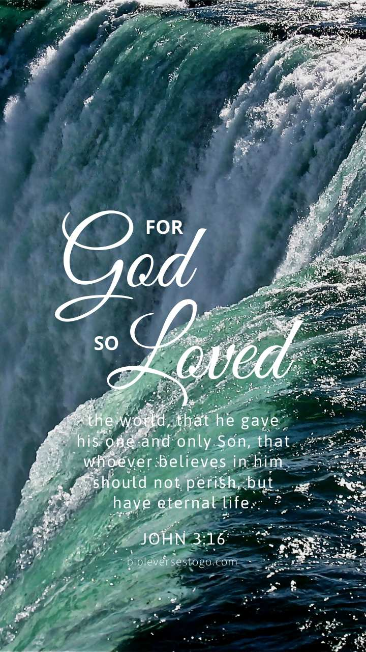 Christian Wallpaper – Niagara John 3:16