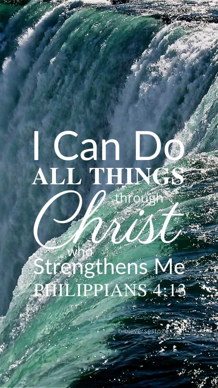 Christian Wallpaper – Niagara Philippians 4:13