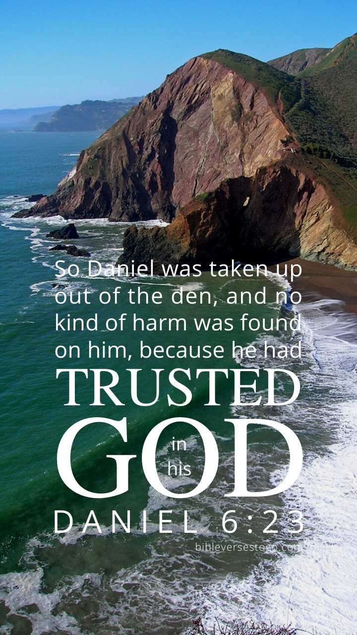 Christian Wallpaper - Ocean Cove Daniel 6:23
