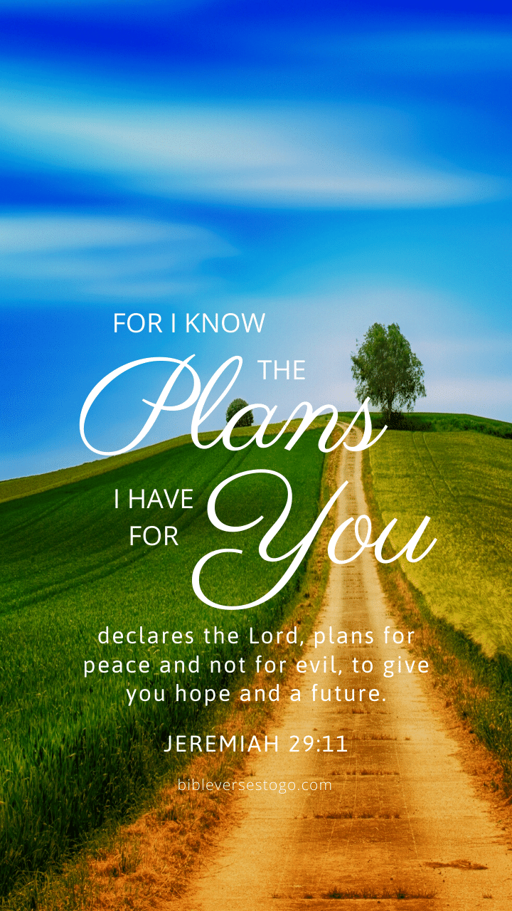 Pathway Jer 29:11 - Bible Verses To Go