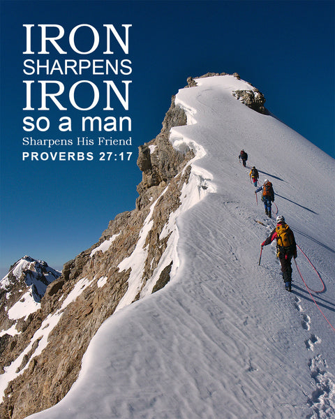 Proverbs 27 17 Iron Sharpens Iron Free Bible Verse Art Downloads Bible Verses To Go