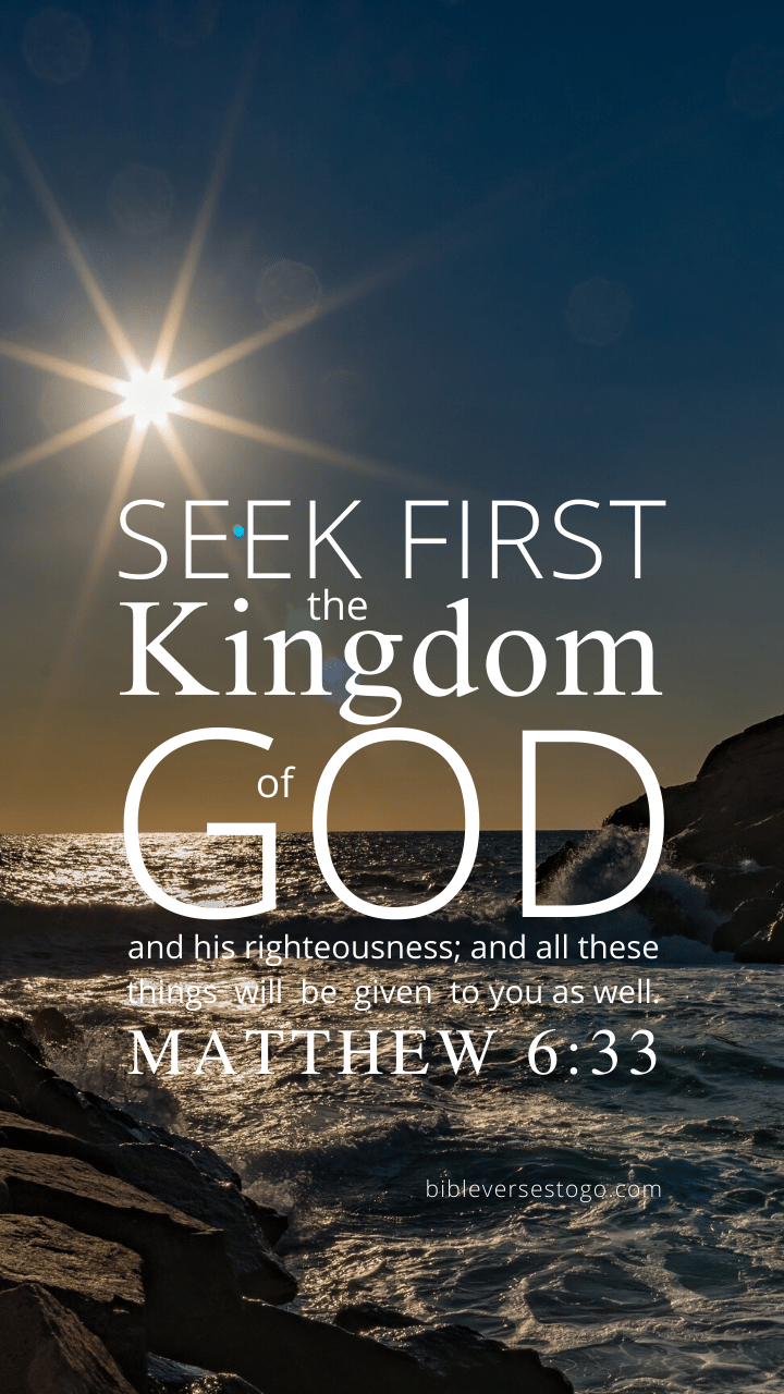 Christian Wallpaper – Sealight Matthew 6:33