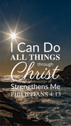 Christian Wallpaper – Sealight Philippians 4:13