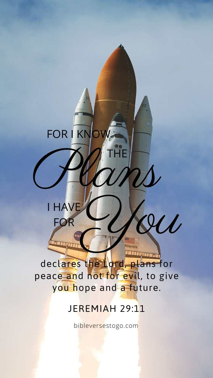 Christian Wallpaper – Shuttle Jeremiah 29:11
