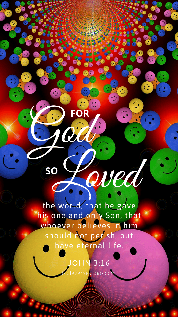 Christian Wallpaper – Smiley John 3:16