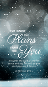 Christian Wallpaper - Snowfall Jeremiah 29:11