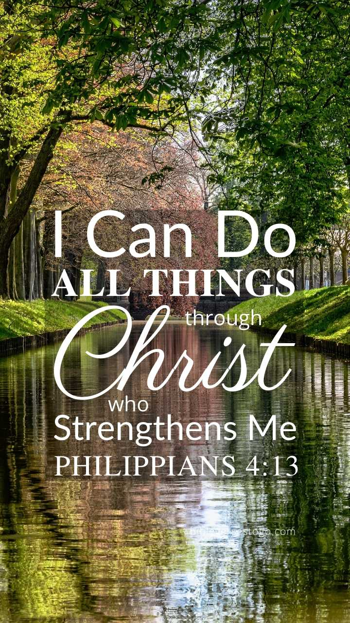 Christian Wallpaper – Stillwater Philippians 4:13
