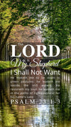 Christian Wallpaper – Stillwater Psalm 23:1-3
